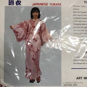 Japanese Yukata L New made in Japan.